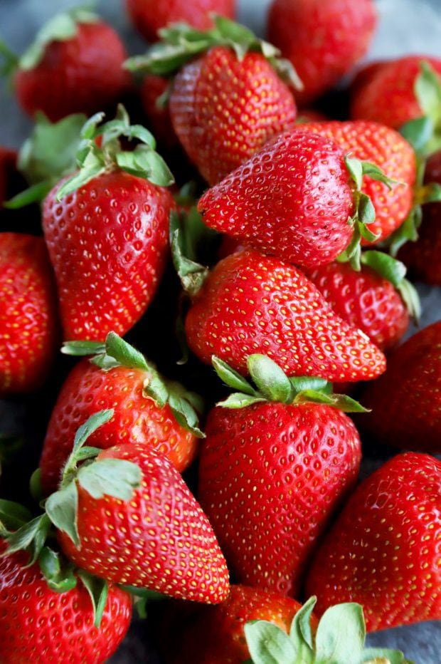 Fresh organic strawberries from Sprouts Farmers Market