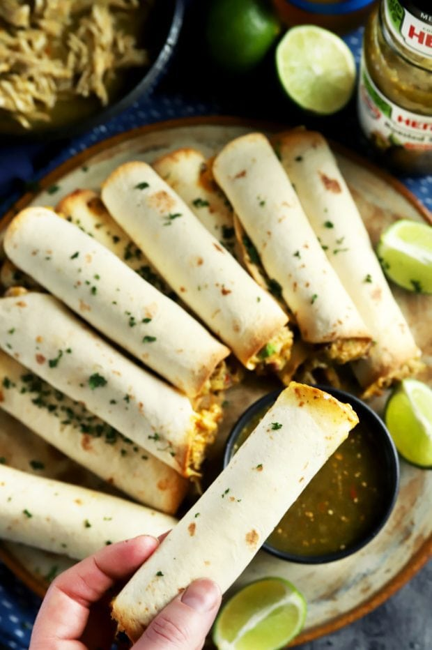 Easy Mexican party appetizer with HERDEZ