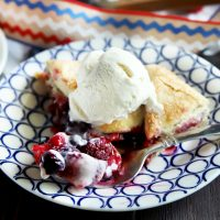 Raspberry Blueberry And Strawberry Galette