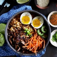 Spicy Pork Instant Pot Ramen