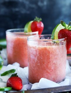 Strawberry Jalapeno Margaritas thumbnail