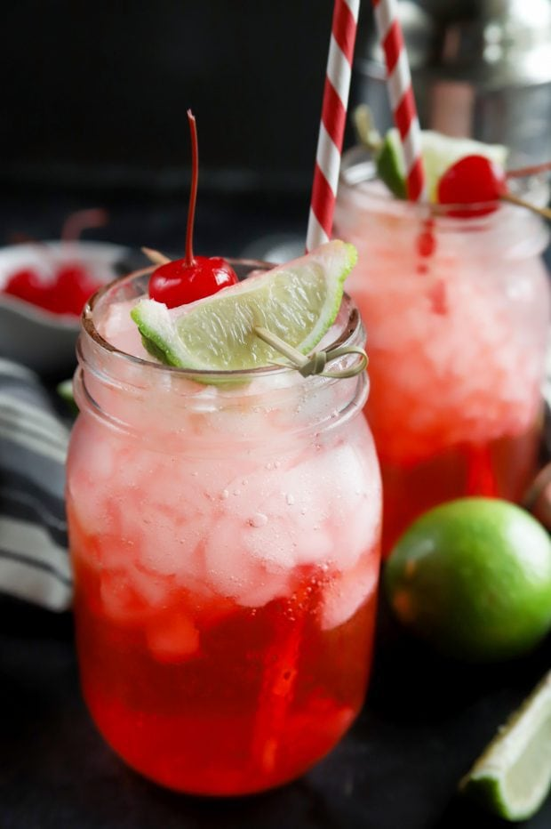 Simple vodka cherry limeade recipe