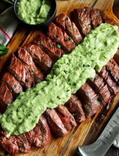 Chipotle Flank Steak with Avocado Salsa thumbnail image