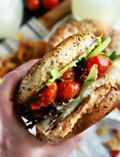 Everything Avocado Turkey Bagel Sandwich thumbnail image