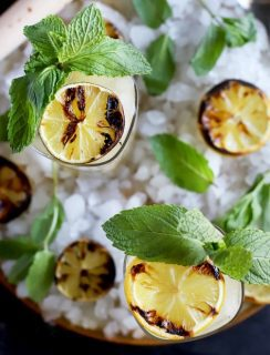 Grilled Lemon Lime Mojito Cocktail thumbnail