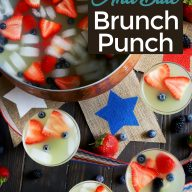 Red White And Blue Brunch Punch Pinterest image
