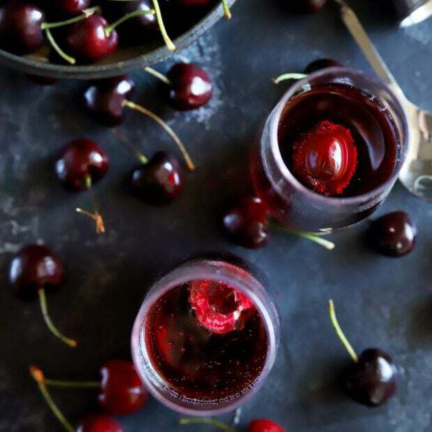 Cherry Rosé Mimosa