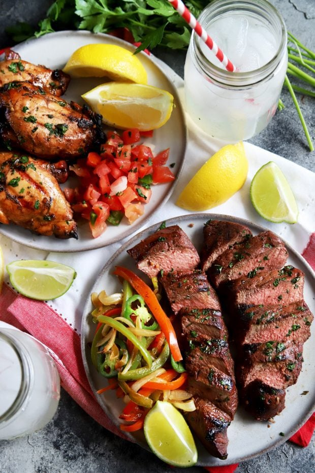 Easy all purpose marinade for beef, pork, or chicken