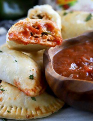 Poblano Enchilada Chicken Empanadas thumbnail