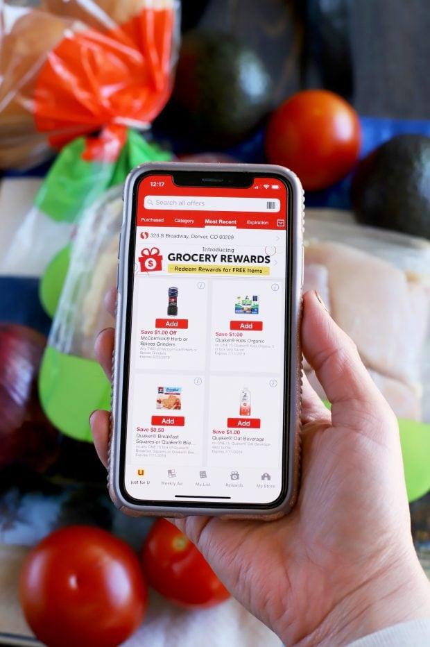 Safeway mobile app
