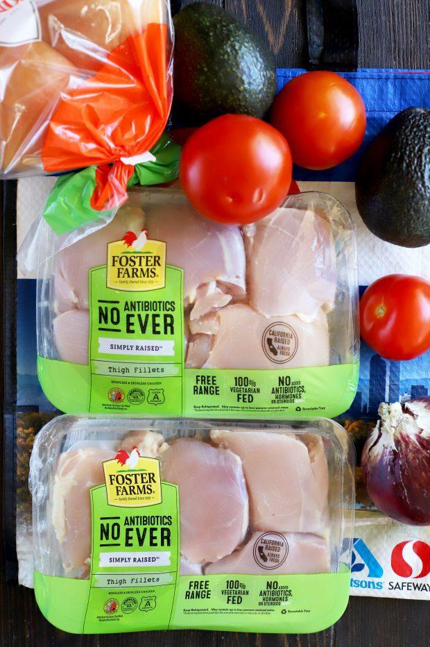Foster Farms chicken from Safeway