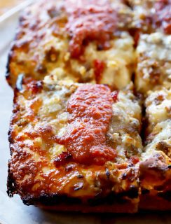 Detroit Style Pizza from Hops & Pie