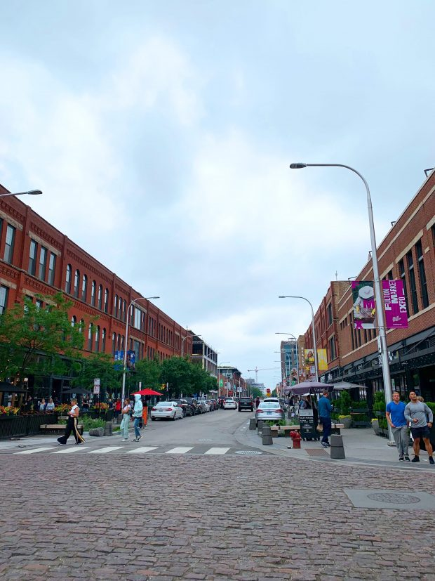 Streets of Fulton in Chicago
