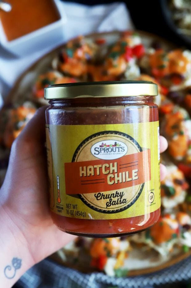 Red hatch chile salsa from Sprouts Farmers Market