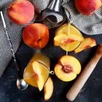 Peach Highball Cocktail