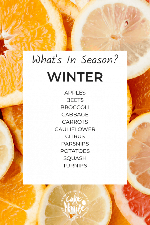 what's in season for winter cooking