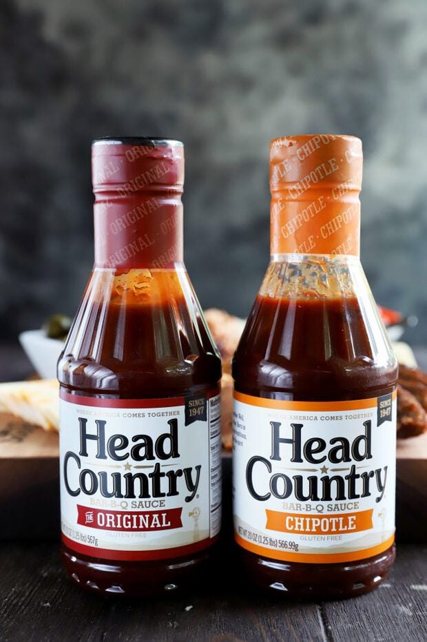 Bottles of Head Country Bar-B-Q
