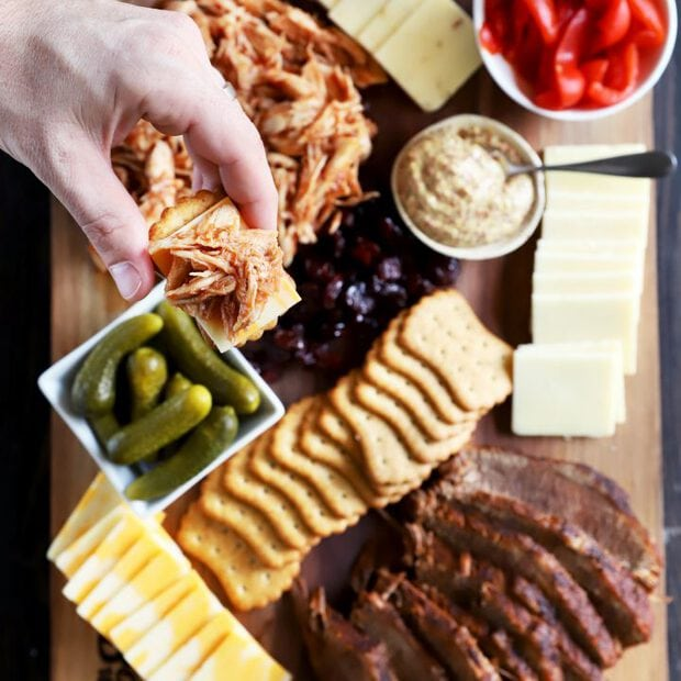Thumbnail image for BBQ charcuterie board