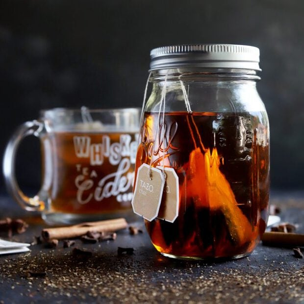 Homemade Chai Infused Bourbon