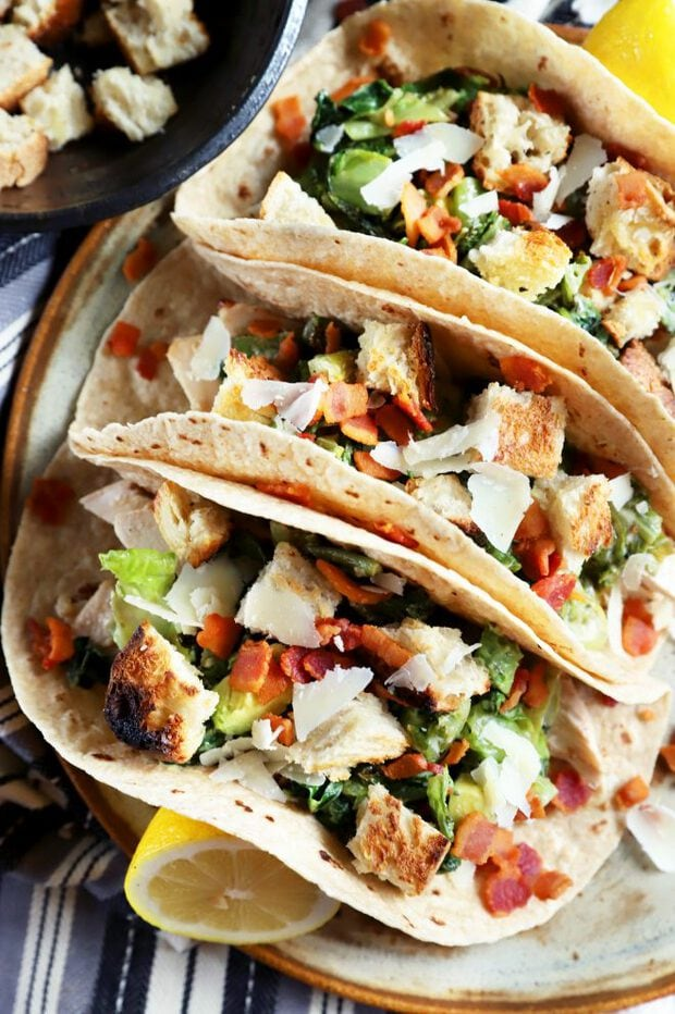 Chicken tacos photograph
