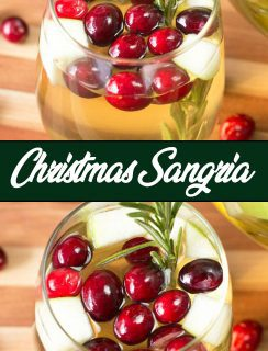 Christmas Sangria Pinterest Image