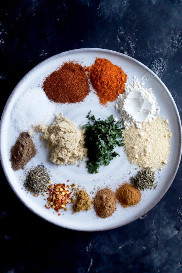 Jerk seasoning spices