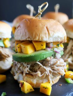 Jerk chicken sliders thumbnail image