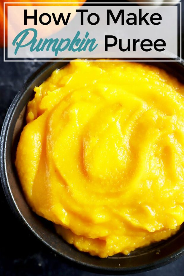 How To Make Pumpkin Puree Pinterest image