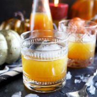Pumpkin Spice Bourbon Old Fashioned