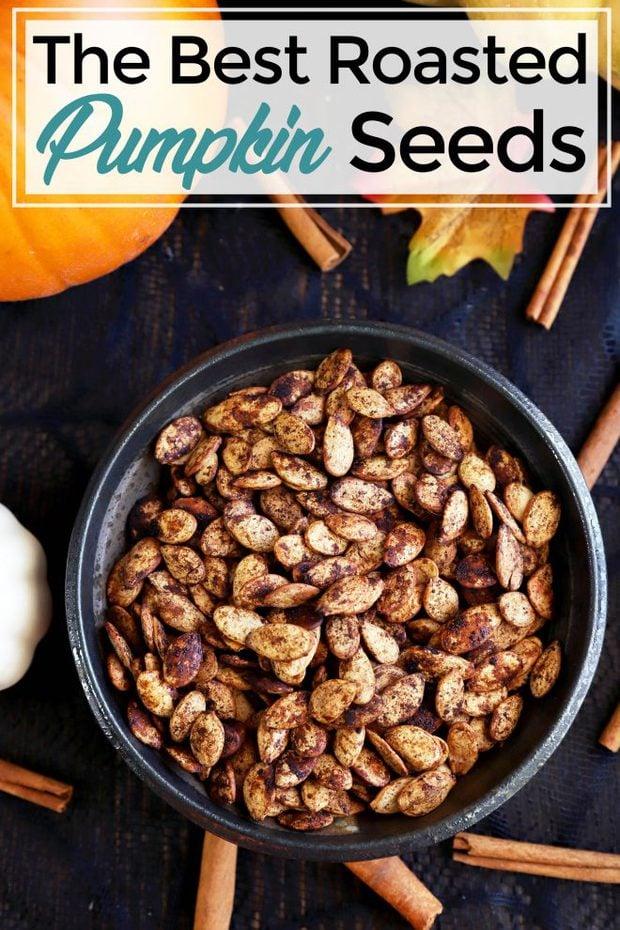 Pumpkin Seeds image for Pinterest