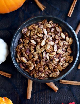 Thumbnail image for the best roasted pumpkin seeds