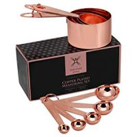 Copper Measuring Cups and Spoons