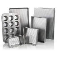 USA Pan Bakeware Aluminized Steel 6 Piece Set