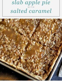 Slab Caramel Apple Pie Pinterest Graphic