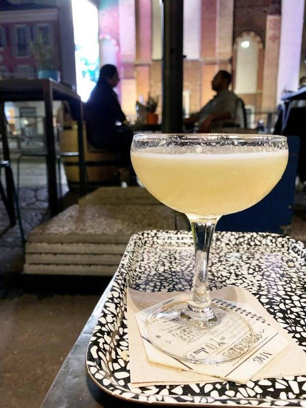 Cocktail at Mag Cafe in Milan