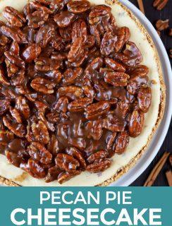 Pecan Pie Cheesecake Pin