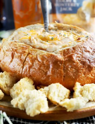 Thumbnail photo for Tear Apart Sourdough Holiday Cheese Dip