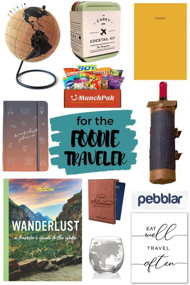 Foodie Traveler Gift Guide Image