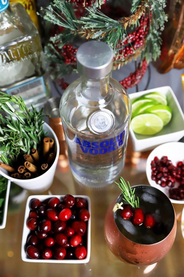 Absolut Moscow Mule Cocktail