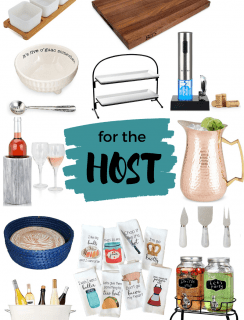 Entertaining holiday gift guide for the host or hostess