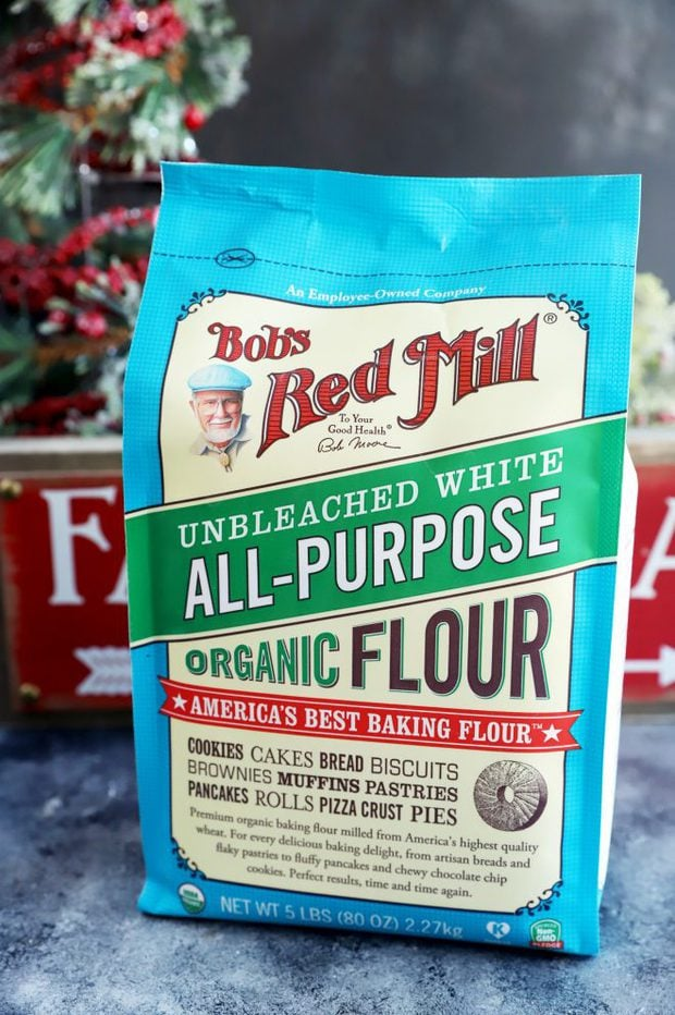 All-purpose flour in a bag from Bob's Red Mill photo