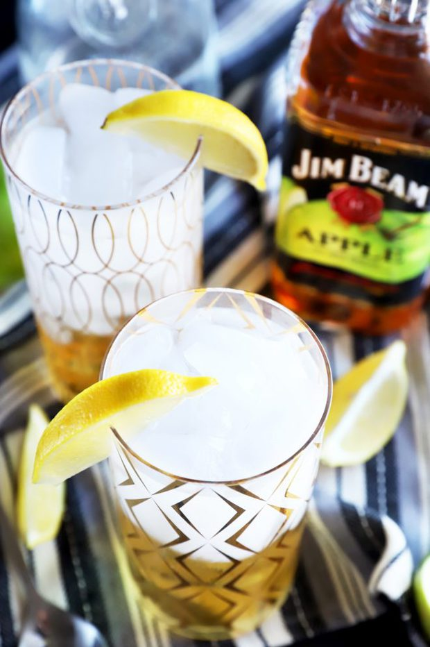 Photo of Jim Beam Apple and Soda Cocktails