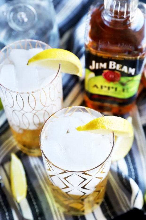 Jim Beam Apple and Soda cocktails photo