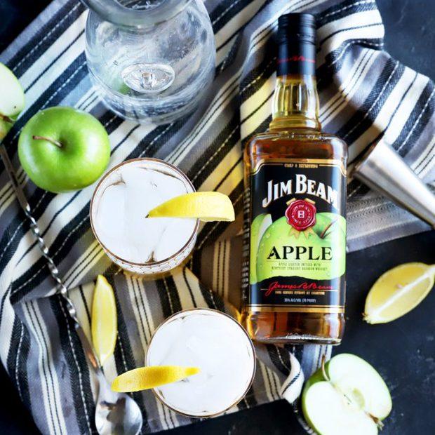 Jim Beam Apple And Soda Cocktail Recipe Cake N Knife