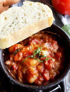 Gnocchi bolognese bake thumbnail image