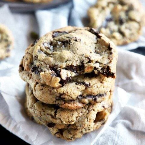 Sea Salt Dark Chocolate Cookies thumbnail image