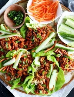 Thumbnail image for Korean Ground Turkey Lettuce Wraps