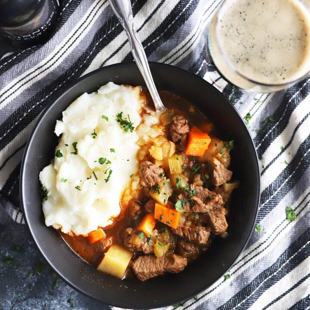 Thumbnail photo of Instant Pot Irish beef stew
