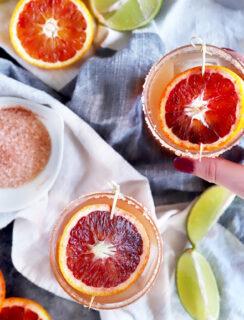 Thumbnail image of blood orange margarita