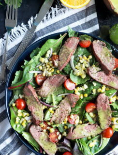 Mojo Steak Salad with Grilled Corn Recipe thumbnail